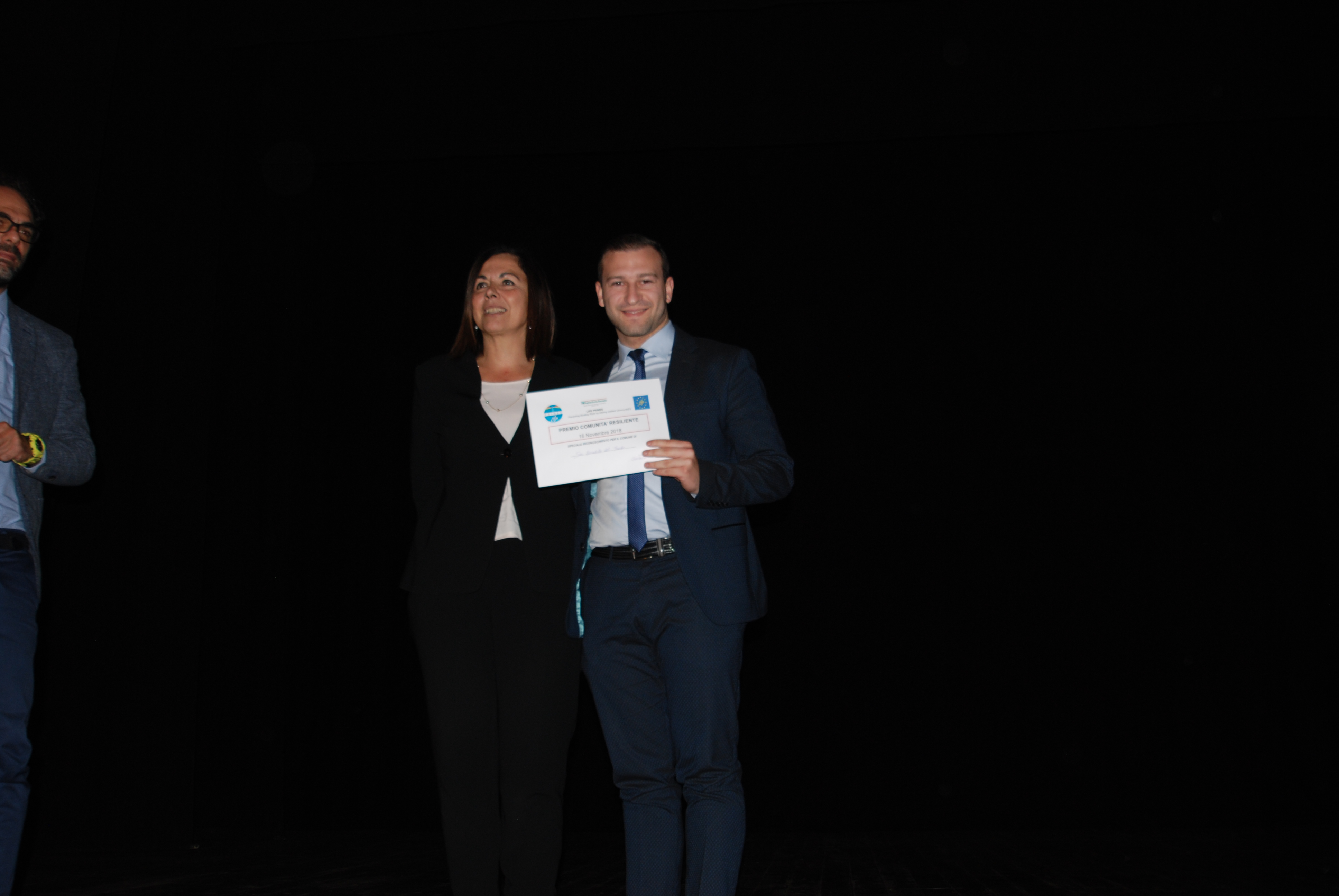 Assessore Gazzolo premia consigliere comune San Benedetto del Tronto
